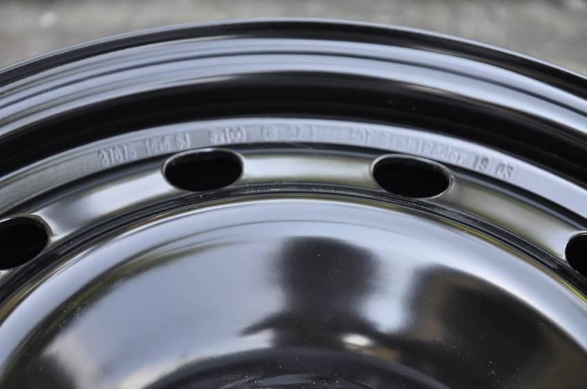FELGI STALOWE 16 5x100 SKODA OCTAVIA FABIA AUDI VW