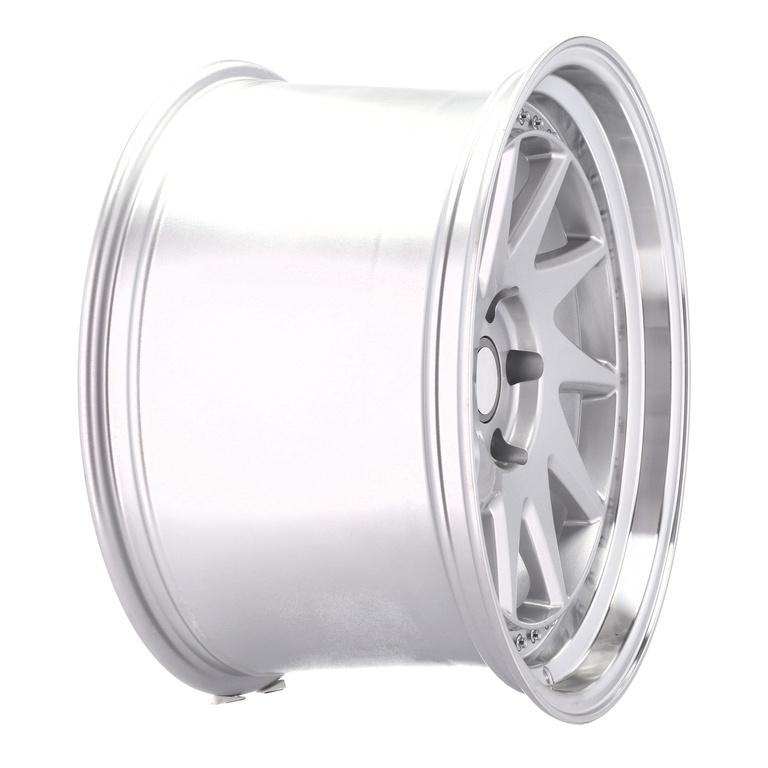 RACING LINE RXFA39 hliníkové disky 9,5x18 5x120 ET25 MS - Polished Silver