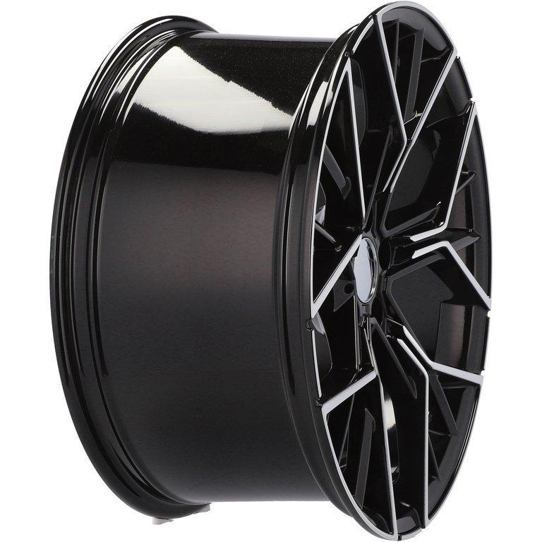 RACING LINE RA5602 hliníkové disky 8,5x20 5x112 ET25 MB - POLISHED + BLACK