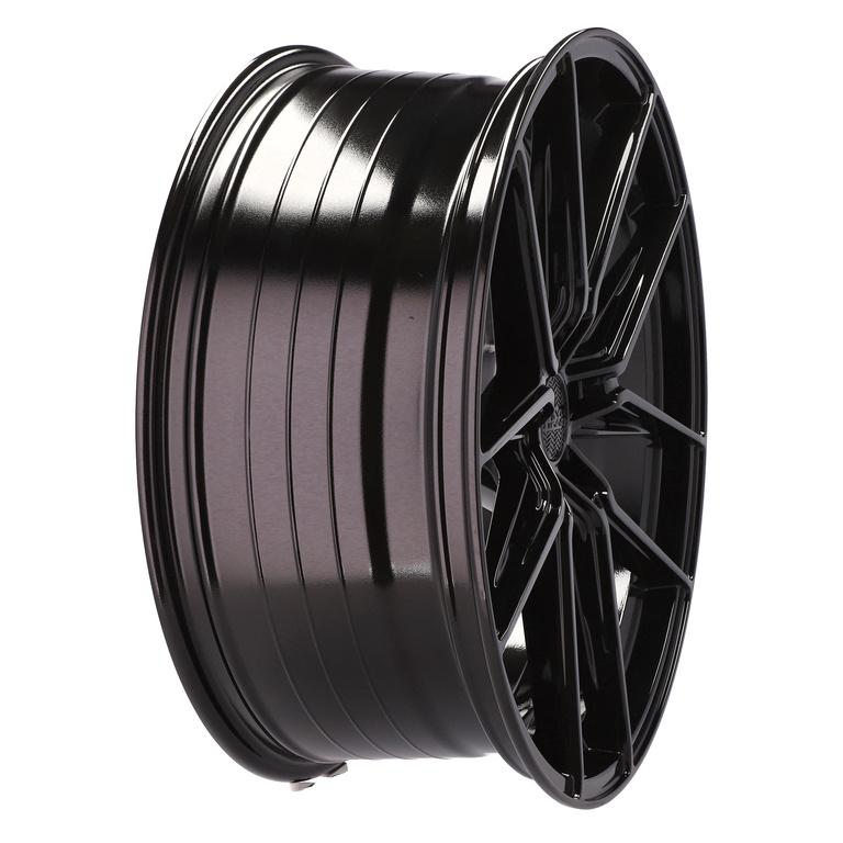 HAXER RHX036 hliníkové disky 9x22 5x115 ET20 BL - BLACK