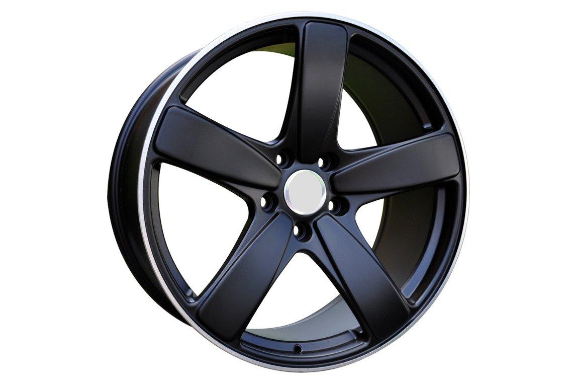 RACING LINE FE023 hliníkové disky 10x21 5x112 ET19 BLP - Black + polished