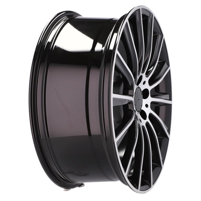 RACING LINE RXFA25 (B1048) hliníkové disky 8,5x19 5x112 ET35 MB - POLISHED + BLACK