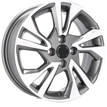 FELGI 15'' 4X100 HONDA CIVIC JAZZ CITY CRX LOGO