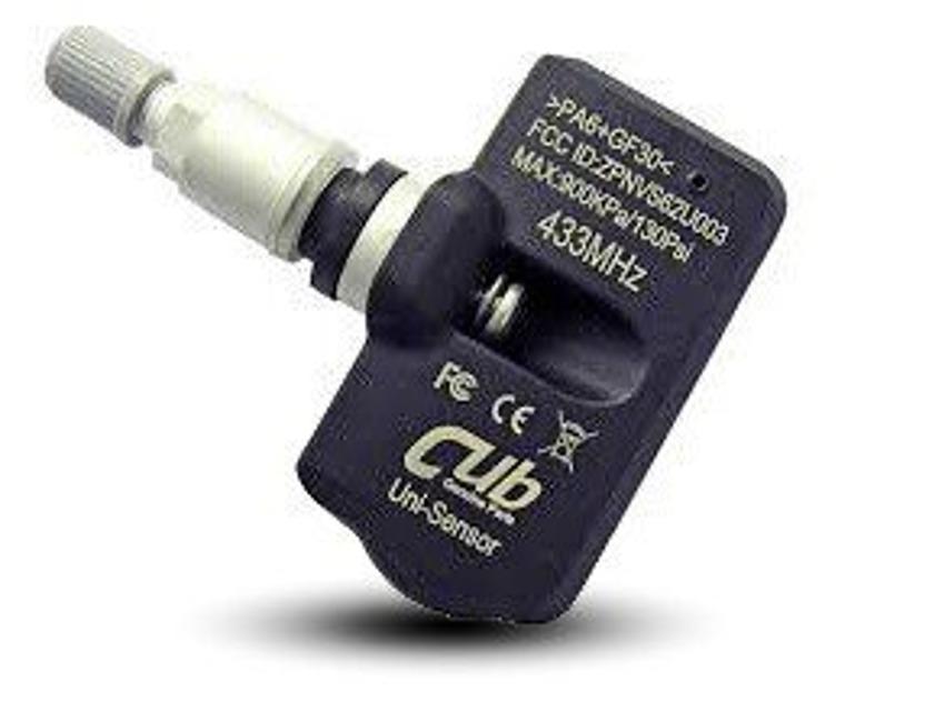 TPMS - Czujnik ciśnienia opon firmy CUB - 433MHz